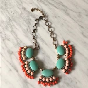 JCrew Factory Bejeweled Necklace
